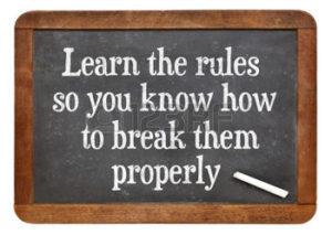 learn the rules