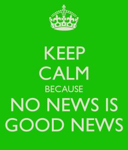 keep-calm-because-no-news-is-good-news